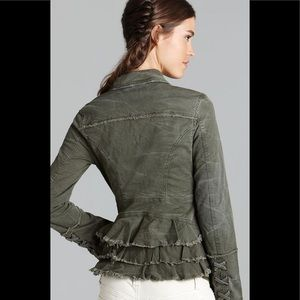 Free People Olive Jacket